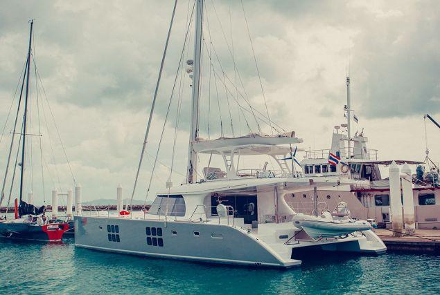 Яхта Sunreef 60 Loft. Аренда яхт на Пхукете.