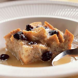 New Orleans Bread Pudding with Bourbon Sauce from Cooking Light