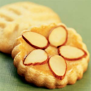 Amaretto Butter Cookies from Sunset