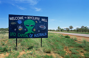 Wycliffe Well, Northern Territory, Australia top 7 UFO hot spots
