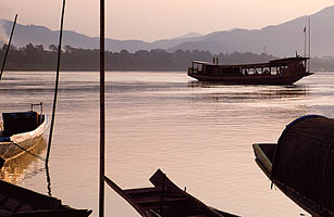 Cruise in Style along Laos Mekong River