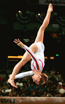 2004 Olympian Courtney Kupets