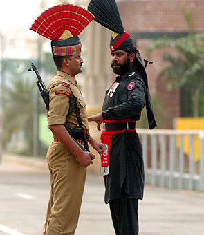 Tensions on the India-Pakistan border