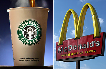 Starbucks vs. McDonald's