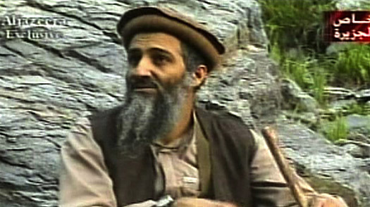 Al-Qaeda leader Osama bin Laden