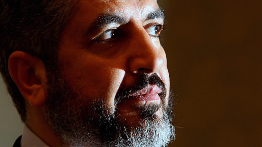 Leader of Hamas, Khaled Mashaal.