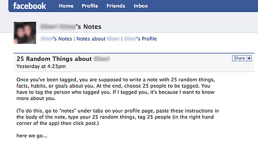 Facebook: 25 Things I Didnt Want to Know About You