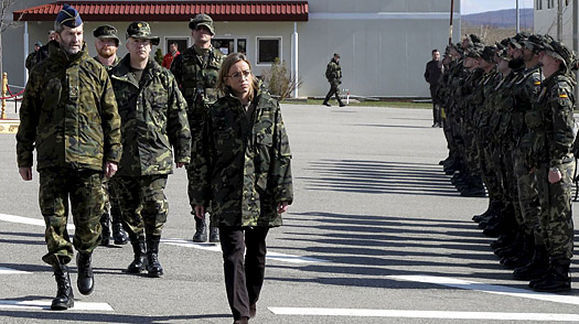 Spains Withdrawal from Kosovo Angers Allies