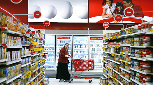 Wal-Mart vs. Target: During the Recession, Its No Contest