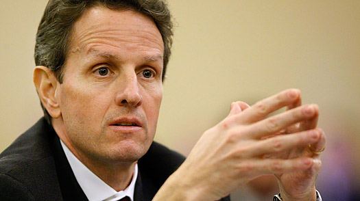 Geithner Tries to Resell the Bank Plan — and Himself