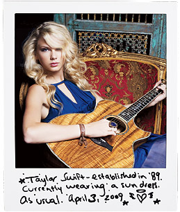 Interview with Taylor Swift