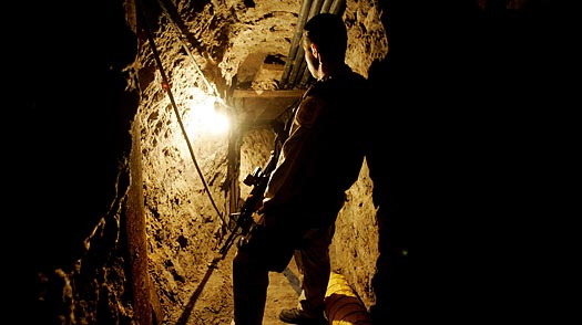 Underground Threat: Tunnels Pose Trouble from Mexico to Middle East