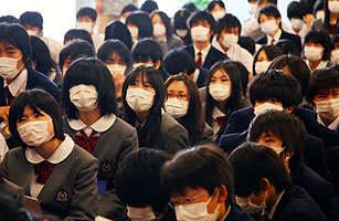 In Japan, Swine Flu Spreading Quickly
