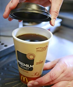Latte with Fries? McDonalds Takes Aim at Starbucks