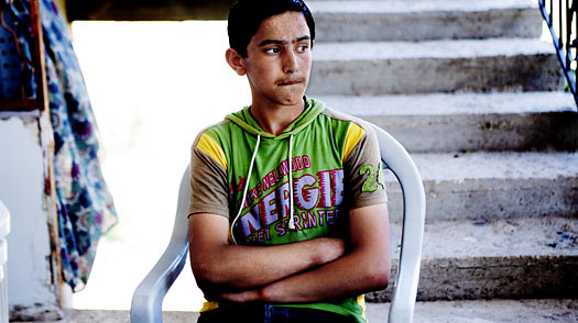 13-year-old  Walid Abu Obeida