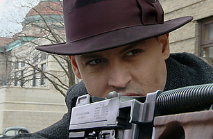 Johnny Depp as John Dillinger in Public Enemies