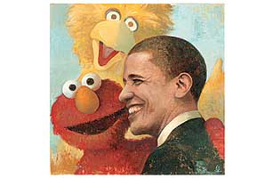 Tickle Me Obama: Lessons from Sesame Street