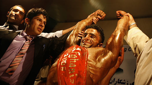 Kabuls Real Strongmen: A Bodybuilding Craze in Afghanistan