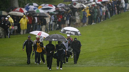 Golf Rage: First Recession, Now Rain at the U.S. Open