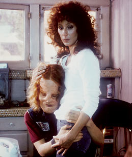 Cher & Eric Stoltz in a scene from Mask