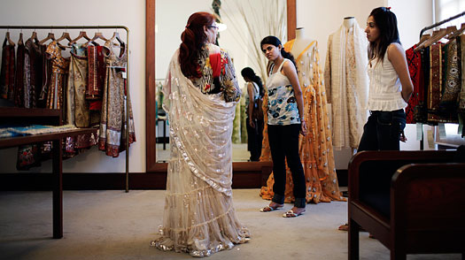 The Dying Art of The Sari