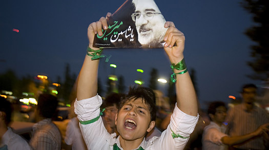 Irans Election: Rallies Reveal a Stark Contrast