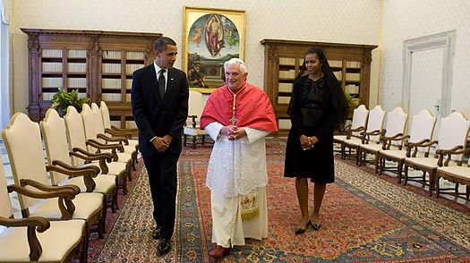 Obama and the Pope: Agreeing to Disagree on Life Issues