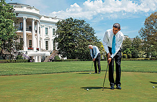 Barack Obamas Golf Game