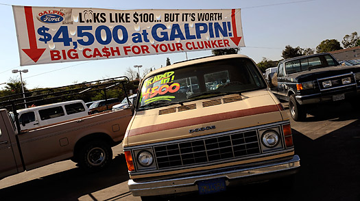 What Happens to Clunkers Consumers Trade In?