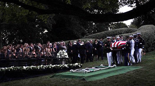 Amid the Nations Fallen, Kennedy Is Laid to Rest