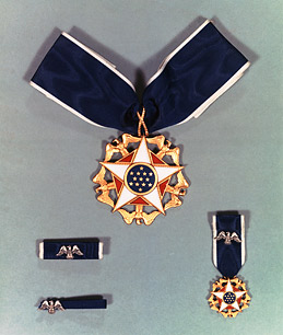 The Presidential Medal of Freedom