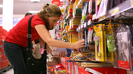 In Recession, Back-to-School Blues for Retailers
