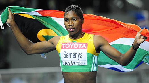 Could the Womens 800-meter World Champ, Caster Semenya, Be a Man?