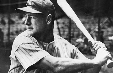 Image result for photos of lou gehrig