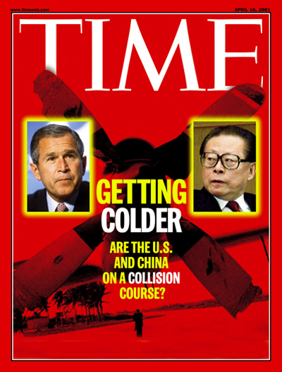 TIME Magazine Cover Getting Colder Apr 16 2001