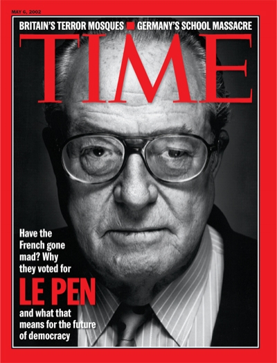 Jean Marie Le Pen Chirac : marie, chirac, Magazine, Cover:, French, Voted, France, Elections, Right, Fascist, Chirac