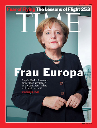Image result for merkel magazine cover
