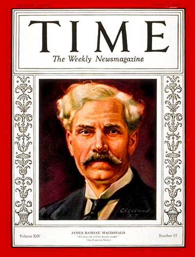 Image result for photo of Prime Minister Ramsay MacDonald