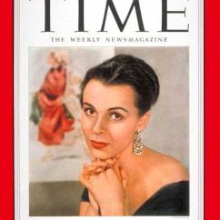 Living Room Covers Formal Rooms Time Magazine Cover: Claire Bloom - Nov. 17, 1952 ...