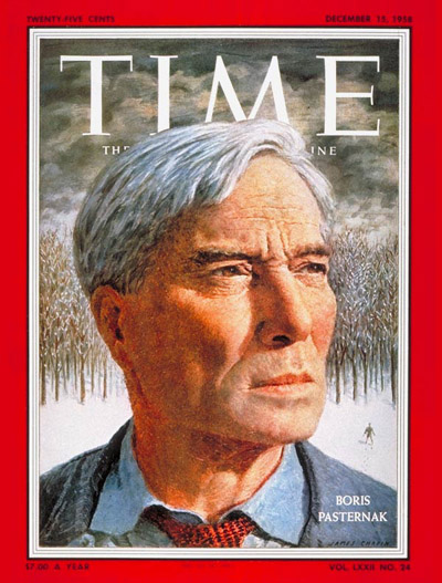 TIME Magazine Cover: Boris Pasternak -- Dec. 15, 1958