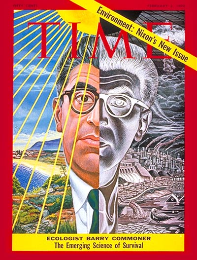 Barry Commoner on cover of Time, 2-2-1970