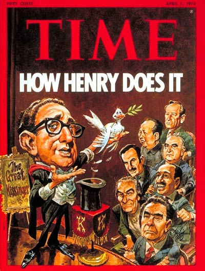 TIME Magazine Cover: Henry Kissinger -- Apr. 1, 1974