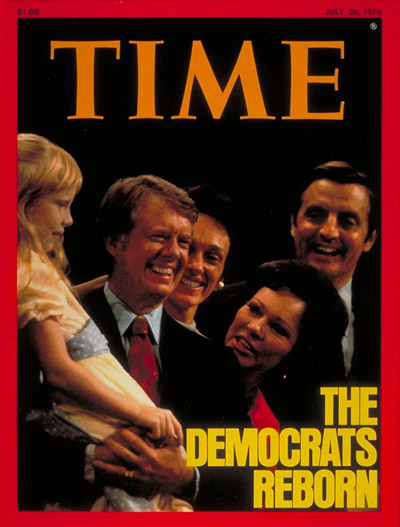 TIME Magazine Cover Carter  Mondale  July 26 1976