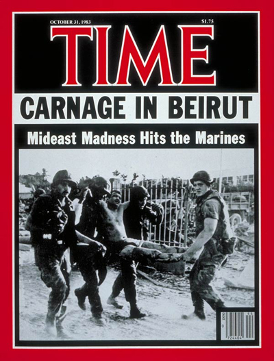 time magazine cover marines