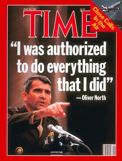 Oliver North against the Surge