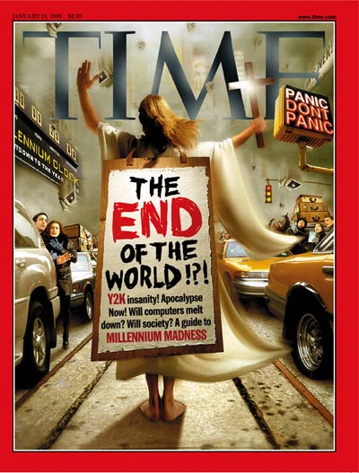 TIME Magazine Cover: End of the World - Jan. 18, 1999 - Science & Technology