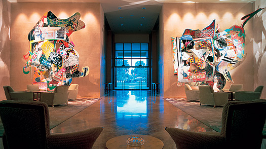 singapore Ritz Carlton Art