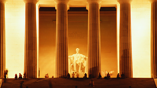 national mall lincoln memorial Washington, DC,
