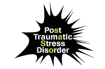 The mental condition of the post-traumatic stress disorder