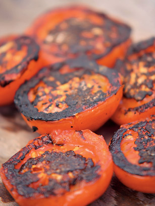 Burnt Tomatoes  Summer Grilling  TIME